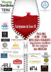 """L'Associazione Young Sardinia organizza per sabato 29 novembre, a Cagliari, l'evento """"Carignano in Love II""""."""