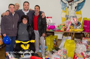 Sono stati consegnati ieri mattina alla Caritas diocesana i giocattoli raccolti nell'ambito dell'iniziativa della segretaria sindacale FSM-CISL.