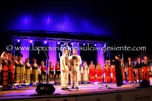 """Questa sera il Festival """"Ai confini tra Sardegna e Jazz"""" propone il progetto """"Suliru"""" con il coro delle Voci Bulgare ed Elena Ledda."""