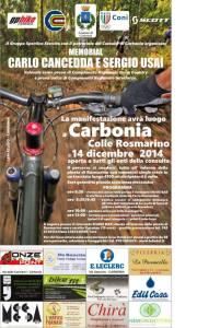 """E' in programma domenica mattina, sul Colle Rosmarino, la gara di Mountain Bike """"Memorial Carlo Cancedda e Sergio Usai"""" – Trofeo Città di Carbonia."""