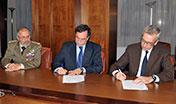 Firmato l'accordo per l'avvio del tavolo di confronto istituzionale tra Regione Sardegna e Ministero della Difesa.