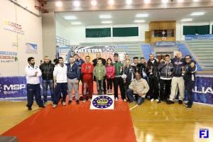"""Si è svolto sabato 27 dicembre, presso il palasport di Calasetta, il 1° Torneo Sulcis """"Braccio di Ferro""""."""