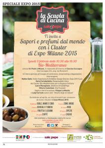 """Lunedì mattina, a Milano, si terrà l'evento """"Sapori e profumi dal mondo con i Cluster di Expo Milano 2015""""."""
