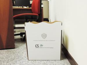 Da lunedì in Consiglio regionale partirà la raccolta differenziata capillare della carta con riciclo diretto.