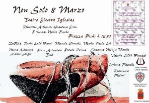 L'8 marzo il Teatro Electra di Iglesias ospiterà due iniziative culturali e di spettacolo.