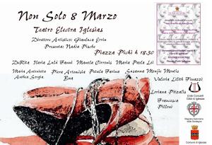 Quest'anno, domenica 8 marzo, in occasione della Festa della Donna, il Teatro Electra ospiterà due iniziative culturali e di spettacolo.