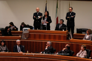 La prima giornata della visita in Sardegna della presidente della Camera Laura Boldrini si è conclusa in Consiglio regionale.