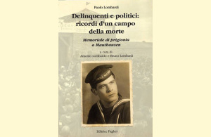 """Venerdì pomeriggio verrà presentato a Portoscuso il libro """"Delinquenti e politici: ricordi d'un campo della morte"""", di Paolo Lombardi."""