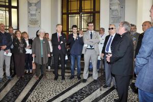 """Inaugurata al San Giovanni di Dio di Cagliari """"San Giovanni di Dio – Non solo un monumento"""" per i 171 anni dell'Ospedale Civile."""