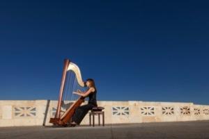 """Domenica ultima giornata del festival """"Arpeggiando"""", dedicato alla diffusione della conoscenza dell'arpa."""