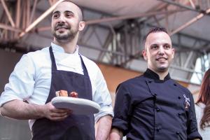 Girotonno Gianfranco Pulina e Sandro Cubeddu durante il Tuna Competition