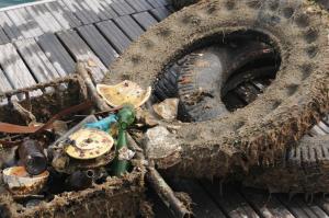 L'associazione Marevivo e il Consorzio EcoTyre hanno recuperato gli pneumatici fuori uso (PFU) abbandonati a terra e a mare a La Maddalena.