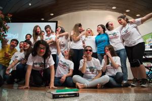 """Alla Fiera di Cagliari 1.250 studenti di tutta l'isola protagonisti di """"Giovani e Solidarietà. Cambia musica: scegli di essere un volontario""""."""
