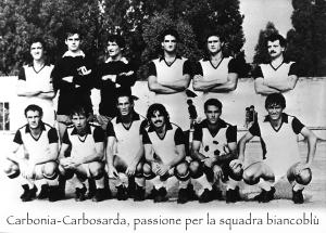 14 dicembre 1980, campionato di serie D: il Carbonia batte la Torres (poi promossa in C2 con il Frosinone) all'Acquedotto di Sassari con un goal di Marco Congiu.