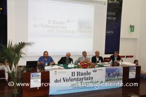 """Stamane la Grande Miniera di Serbariu ha ospitato un incontro-dibattito sul """"Il ruolo del volontariato nel territorio""""."""
