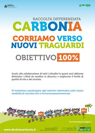 Raccolta differenziata CARBONIA Obiettivo 100%
