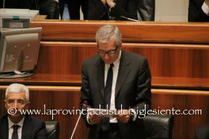 Le dichiarazioni del presidente della Regione Francesco Pigliaru sul protocollo d'Intesa Ministero della Difesa – Regione Sardegna.