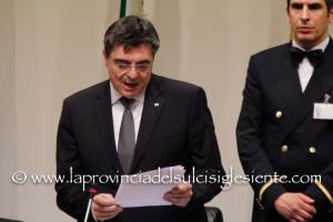 Il presidente del Consiglio, Gianfranco Ganau, celebra a Bono la festa della liberazione.