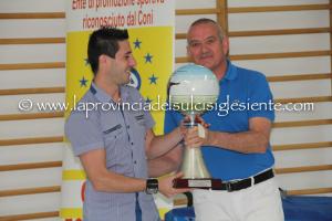 Si sono svolte ieri sera le premiazioni del campionato provinciale di calcio a cinque organizzato dall'MSP.