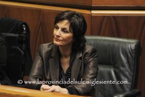 L'assessore dell'Industria, Maria Grazia Piras, è intervenuta in audizione durante i lavori della V commissione.