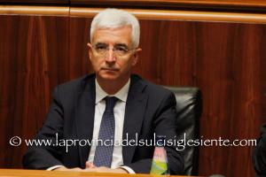 L'assessore del Bilancio Raffaele Paci ha incontrato a Palazzo Viceregio il Cal, Consiglio delle autonomie locali, per illustrare la Finanziaria 2018.