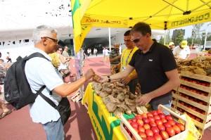 """Sarà inaugurato domani, martedì 12 dicembre, il nuovo mercato a """"km zero"""" di Campagna Amica a Carbonia."""