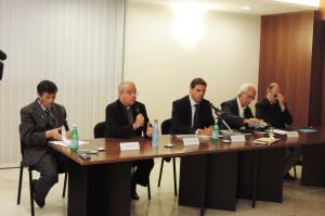 Si è tenuto in Consiglio regionale un incontro sulla comunicazione di Papa Francesco.
