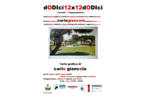 """Da domani al 7 agosto, a Carbonia, la mostra """"L'arte grafica di Carlo Giancola""""."""