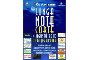 """Martedì 4 agosto, a Cortoghiana, la sesta edizione di """"Lunga Note a Corte""""."""
