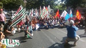 Manifestazione Alcoa a Roma 8 luglio 2015 1