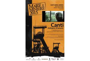 """Sabato 1 agosto a Sant'Anna Arresi Ginevra Di Marco in concerto con """"Canti. Richiami d'amore"""", nell'ambito di Mare e Miniere 2015."""