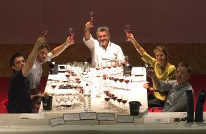 """Al """"Wine and Sardinia"""" di Sorgono, più di cento cantine in gara con vini da tutta l'Isola."""