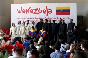 Oggi Expo Milano 2015 ha celebrato il National Day del Venezuela.