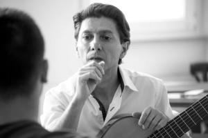 Cristian Marcia, durante una lezione