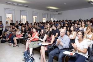Gli allievi dell'Accademia il giorno dell'inaugurazione- Olivario photo