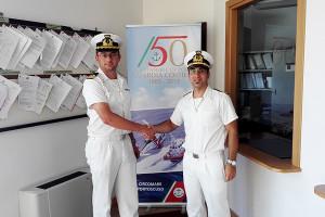 Mercoledì 2 settembre ci sarà il cambio al vertice della Guardia Costiera di Portoscuso. Rocco Chiuri subentra a Matteo Prantner.