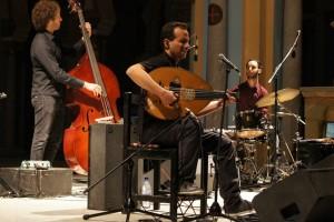 """Il quartetto di Mauro Sigura oggi a Oristano, per Dromos, con il progetto """"The colour identity"""", ospite il trombettista francese Erik Truffaz."""