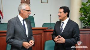 Francesco Pigliaru all'incontro con il Qatar: «Qualità ambientale per lo sviluppo turistico della Sardegna».