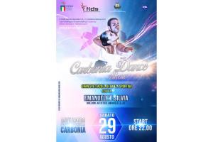 E' in programma il 29 agosto all'anfiteatro di Piazza Marmilla, a Carbonia, il primo Emanuele & Silvia – Carbonia Dance Show.