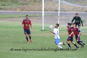 Carbonia - Monteponi 0 a 1 - 2
