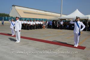 Il capitano di corvetta Matteo Prantner ha lasciato il comando della Guardia costiera di Portoscuso al tenente di vascello Rocco Chiuri.