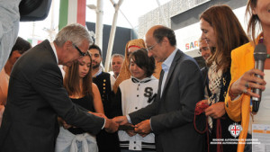 Inaugurazione padiglione Sardegna a Expo Milano 2015