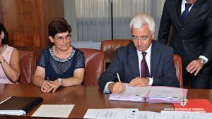 Firmato ieri sera in Regione il primo progetto della nuova Programmazione Territoriale.
