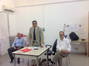Riunione con Luigi Arru al CTO 4