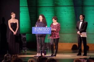 Tutto esaurito nell'Unesco di Parigi per la serata di gala dedicata alla Sardegna e al suo capoluogo.