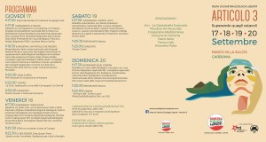Da giovedì 17 a domenica 20 settembre, a Carbonia, la Festa annuale di Sinistra Ecologia Libertà.