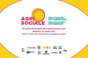 """Lunedì, nella sala anfiteatro della Regione, l'evento finale del progetto """"Agrisociale: Coltiviamo cittadinanza""""."""