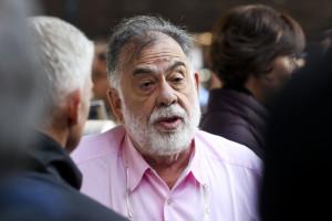 Franco Battiato e Francis Ford Coppola hanno visitato oggi Expo Milano 2015.