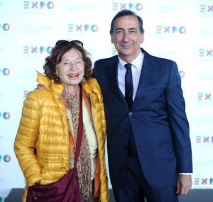 L'editrice Inge Feltrinelli a Expo Milano 2015: «Affascinante, evento riuscito che fa onore all'Italia».
