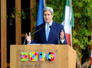 A Expo Milano 2015 la visita del segretario di Stato degli Stati Uniti d'America, John Kerry.